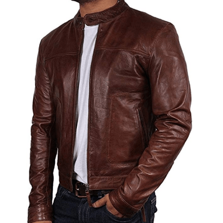Brown Leather Jacket
